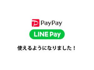LINE PAY ペイペイ 決済 歯科 福山